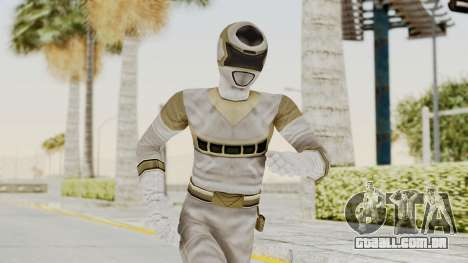 Power Rangers In Space - Silver para GTA San Andreas