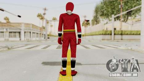 Alien Rangers - Red para GTA San Andreas terceira tela