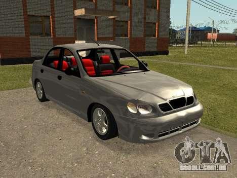 Daewoo Lanos (Sens) 2004 v2.0 by Greedy para GTA San Andreas