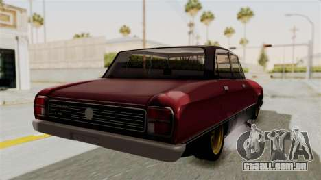 Ford Falcon Sprint para GTA San Andreas vista direita
