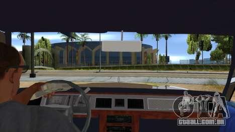Mercury Grand Marquis 1986 v1.0 para GTA San Andreas vista interior