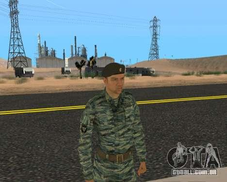 Pak Militar Russo para GTA San Andreas décima primeira imagem de tela
