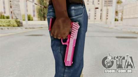 GTA 5 Pistol .50 Pink para GTA San Andreas