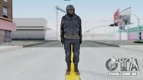 MGSV Phantom Pain Zero Risk Vest v1 para GTA San Andreas segunda tela