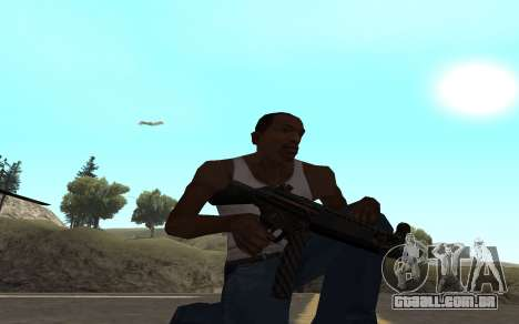 Redline weapon pack para GTA San Andreas sétima tela
