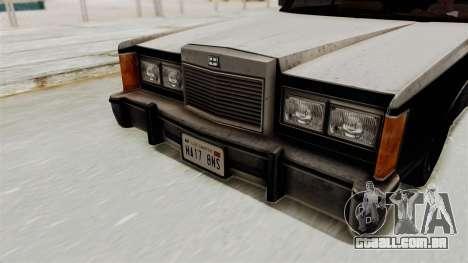 GTA 5 Dundreary Virgo IVF para GTA San Andreas vista traseira