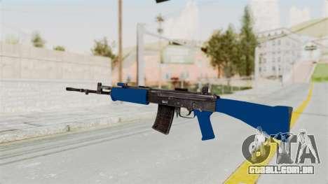 IOFB INSAS Dark Blue para GTA San Andreas segunda tela