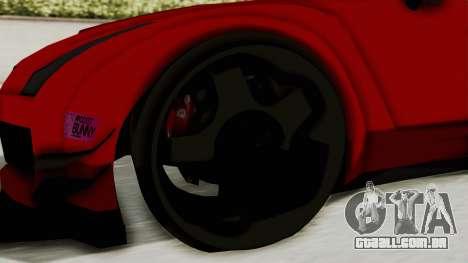GTA 5 Annis Elegy Twinturbo No Spec para GTA San Andreas vista traseira