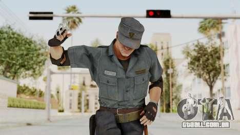 MGSV Phantom Pain Zero Risk Security Combat v2 para GTA San Andreas