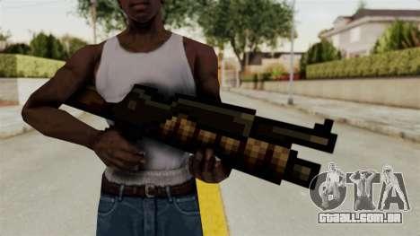 Heavy Machinegun from Metal Slug para GTA San Andreas terceira tela