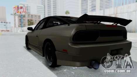 Nissan Sileighty TOD para GTA San Andreas esquerda vista
