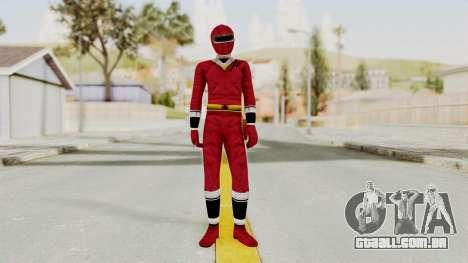 Alien Rangers - Red para GTA San Andreas segunda tela