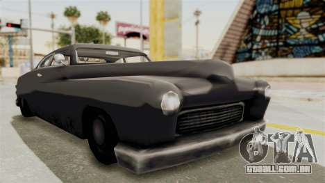 Beta VC Hermes para GTA San Andreas vista direita