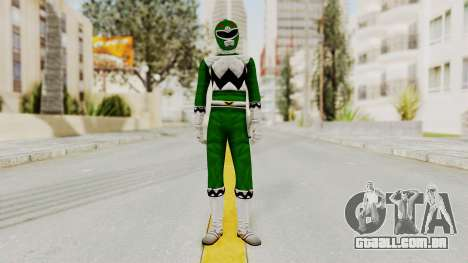 Power Rangers Lost Galaxy - Green para GTA San Andreas segunda tela
