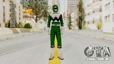 Power Rangers Lost Galaxy - Green para GTA San Andreas segunda tela