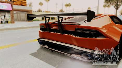 Lamborghini Huracan Libertywalk Kato Design para vista lateral GTA San Andreas