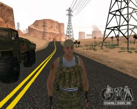 Pak Militar Russo para GTA San Andreas