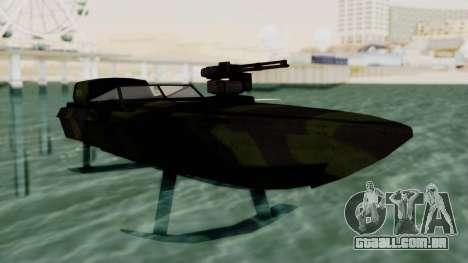 Triton Patrol Boat from Mercenaries 2 para GTA San Andreas