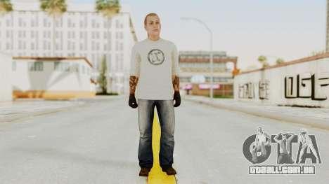 GTA 5 Tattooist v2 para GTA San Andreas segunda tela