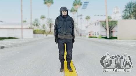 MGSV Phantom Pain Zero Risk Vest v2 para GTA San Andreas segunda tela