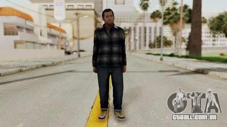 GTA 5 Michael v1 para GTA San Andreas segunda tela