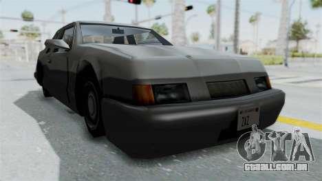 Lumia (Civil Hotring Racer) para GTA San Andreas vista direita
