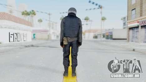 MGSV Phantom Pain Zero Risk Vest v1 para GTA San Andreas terceira tela