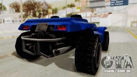 BF Buggy para GTA San Andreas vista direita