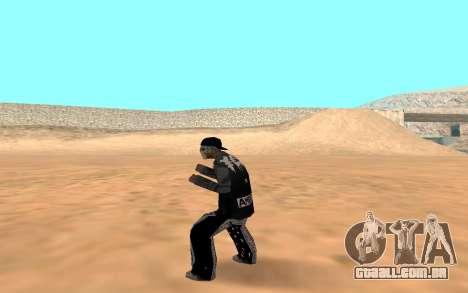 Varios Los Aztecas Gang Member para GTA San Andreas terceira tela