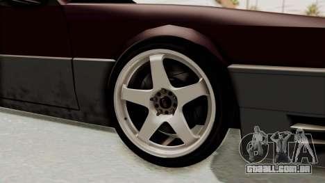 Blista CRX para GTA San Andreas vista traseira