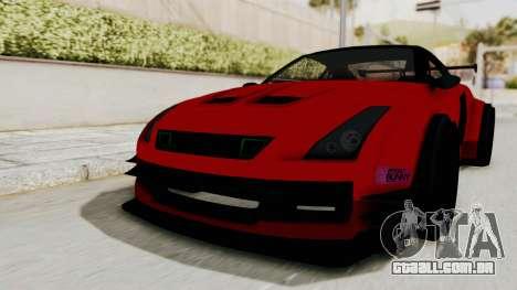 GTA 5 Annis Elegy Twinturbo No Spec para GTA San Andreas vista direita