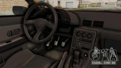 Nissan Skyline R32 4 Door para GTA San Andreas vista interior