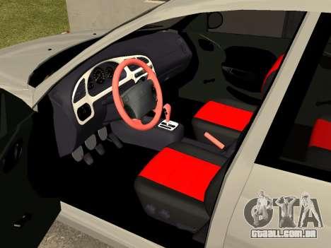Daewoo Lanos (Sens) 2004 v2.0 by Greedy para vista lateral GTA San Andreas