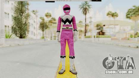 Power Rangers Lost Galaxy - Pink para GTA San Andreas segunda tela