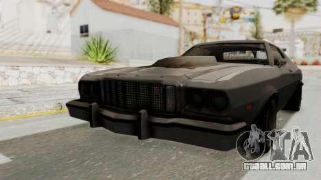 Ford Gran Torino 1975 Special Edition para GTA San Andreas traseira esquerda vista