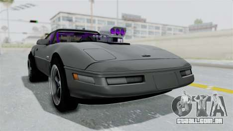 Chevrolet Corvette C4 Drag para GTA San Andreas vista direita
