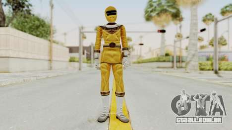 Power Ranger Zeo - Yellow para GTA San Andreas segunda tela