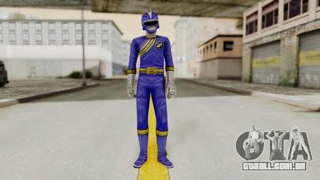Power Rangers Wild Force - Blue para GTA San Andreas segunda tela