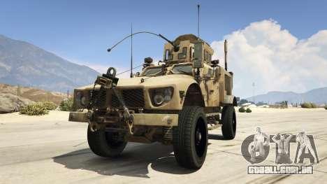 Oshkosh M-ATV 0.01 para GTA 5