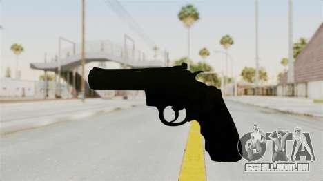 Colt .357 Black para GTA San Andreas segunda tela