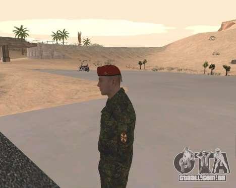 Pak Militar Russo para GTA San Andreas oitavo tela