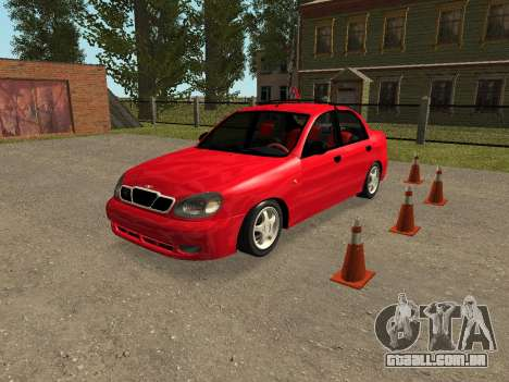 Daewoo Lanos (Sens) 2004 v2.0 by Greedy para GTA San Andreas vista inferior