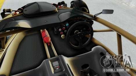 Ariel Atom 500 V8 para GTA San Andreas vista interior