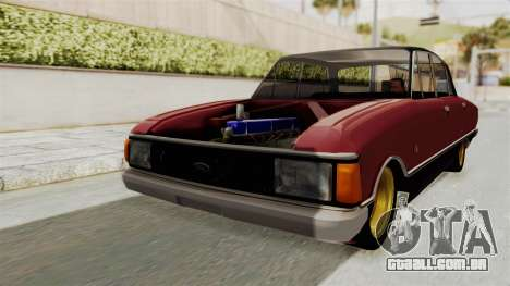 Ford Falcon Sprint para GTA San Andreas traseira esquerda vista