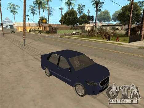 Datsun on-DO para GTA San Andreas