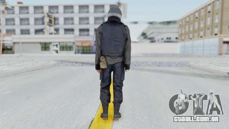 MGSV Phantom Pain Zero Risk Vest v2 para GTA San Andreas terceira tela