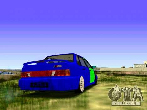 2115 Feridos para GTA San Andreas traseira esquerda vista