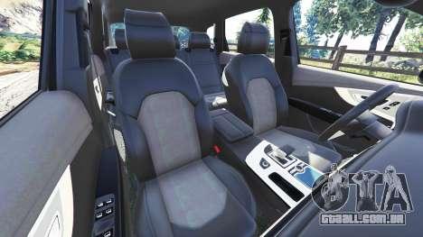 GTA 5 Audi Q7 2015 [rims2] vista lateral direita