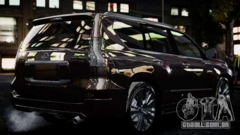 Lexsus GX460 para GTA 4 esquerda vista