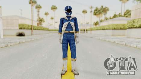 Power Rangers Lightspeed Rescue - Blue para GTA San Andreas segunda tela